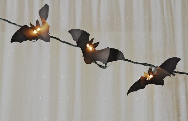 Bat Light Garland DIY