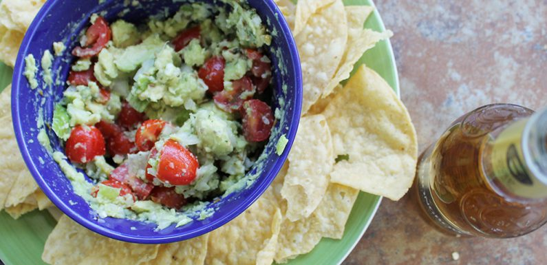 Holy Guacamole: The Easiest Guac Recipe Ever