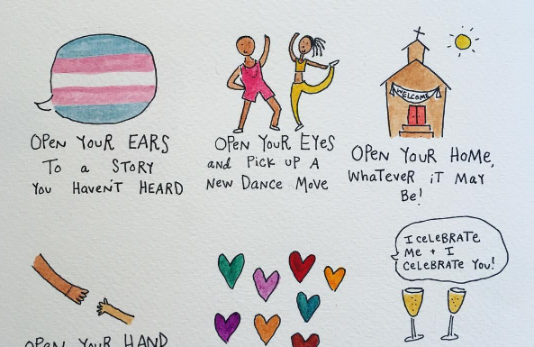 A Conversation With Instagram's Beloved Illustrator Mari Andrew